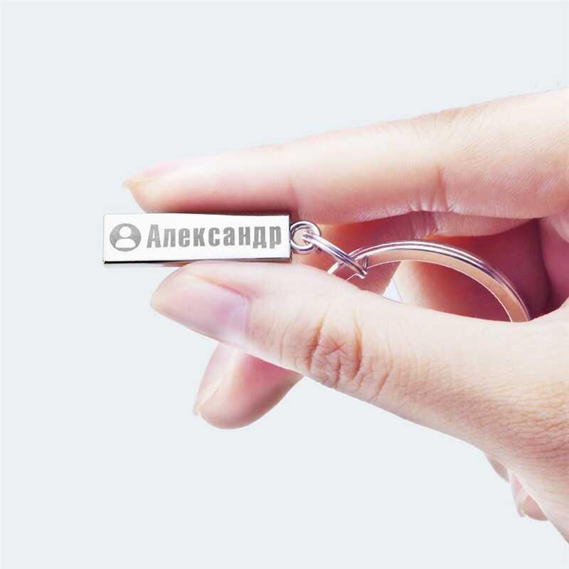 Porte-clés personnalisé avec numéro